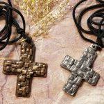 JPS.6070 & JPS.6071 rock cross pendants