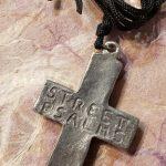 JPS.6071 back rock cross pendant