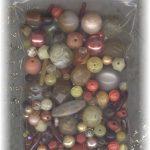 Yellow oragne beads